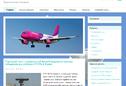 Автонаполняющийся сайт про авиацию