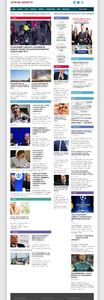 Автонаполняющийся новостной сайт Гарячие новости