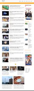 Автонаполняющийся новостной англоязычный сайт IfNews24