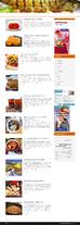 Автонаполняющийся сайт Кулинарный шедевр