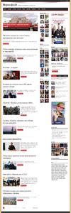 Автонаполняемый новостной сайт МирИнфо
