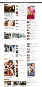 Автонаполняющийся сайт Модницам (премиум)