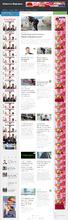 Автонаполняющийся новостной сайт Новости Ферганы