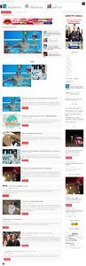 Автонаполняющийся сайт Первая полоса под крупный новостной проект