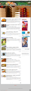Автонаполняющийся сайт Рецепты