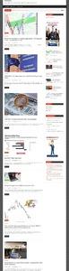 Автонаполняющийся сайт Фондовые новости