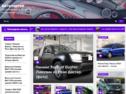 Автонаполняющийся сайт про автомобили