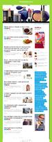Автонаполняющийся сайт женский модный портал (премиум)