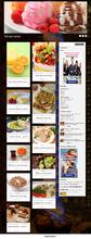 Автонаполняющийся кулинарный сайт